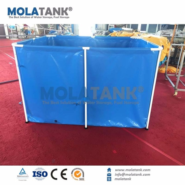 Super Quality PVC Collapsible Costomized Mini Tank Plants Fish Keeping Tank with decorations