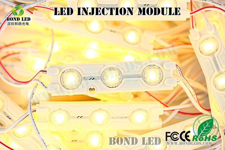injection smd 5050 modules led power from yigao factory