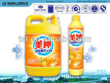 1L dishwashing Liquid detergent, 1L bottle bowl washing liquid
