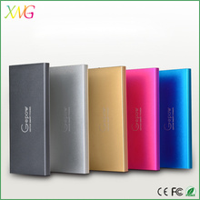 Ultra slim aluminum portable laptop power bank 5000 mAH for samsung galaxy tab