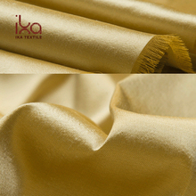 Luxury Heavy 100% Pure Silk Wholesale Yarn Dye Dupioni Silk Fabric for Bedroom Curtains