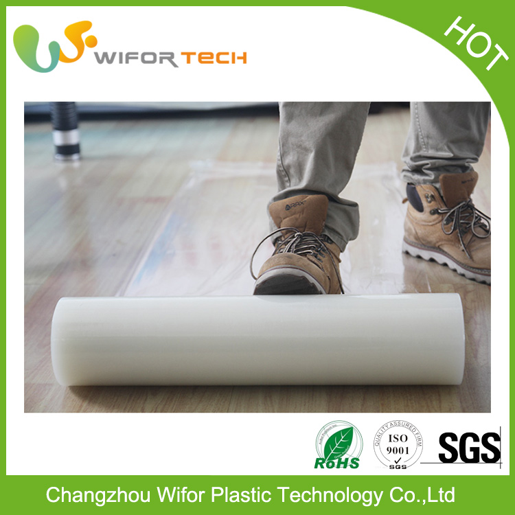 Free Samples Self Adhesive Cling Film Floor Protection