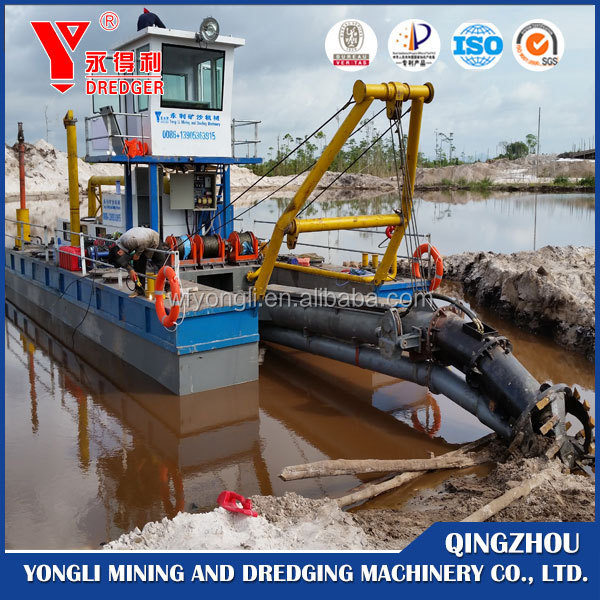 14 inch sand suction & dredging ship/dredger for sale