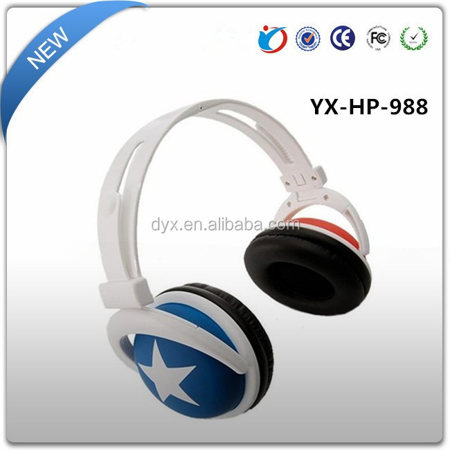 China wholesale music best stereo fancy cool design hot selling headphones