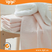 hot sale Project White Embroidery yoga towel for hotel