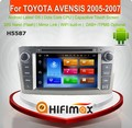 Hifimax Android 6.0 Toyota avensis navigation system toyota avensis dvd car gps navigation system for avensis toyota 2003-2007