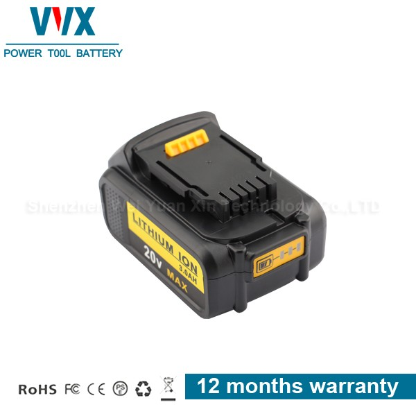 2017 20v 4.0Ah for Dewalt li-ion cordless drill battery