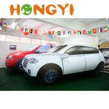 Custom advertising inflatable car PVC inflatable car model balloon for exhibition