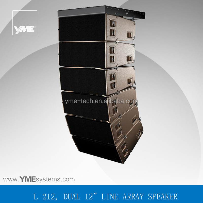 Full range 3-way Large stadium outdoor concert line array sound system speaker box