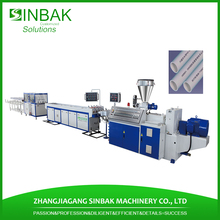 Flexible pe ppr pvc pipe production line plastic hose extruder machine