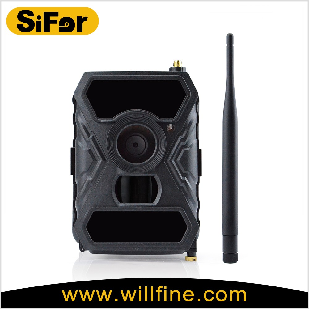 5MP 1080P send photos to cellphone and server solar battery powered wireless 3G outdoor security camera