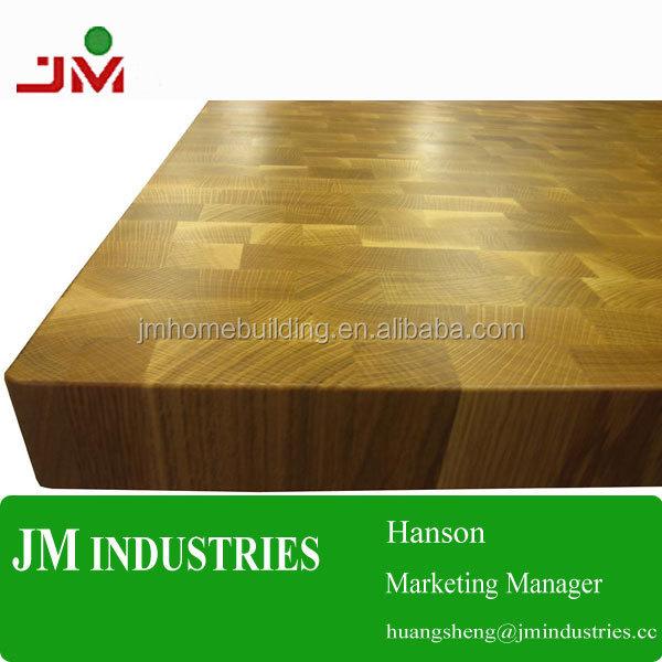 wood countertop high quality end grain kitchen butcher