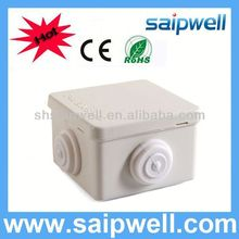 2013 HOT Sale IP66 ABS/PC waterproof junction box cover with cable gland