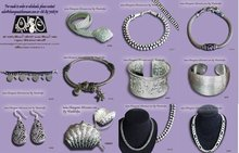 silver jewelry from Chiangmai, Thailand.