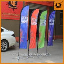 road sides flying banner beach flag car wash advertising banner custom made feather flag outdoor advertising