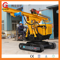 Hydraulic Solar Pile Driver Used For Photovoltaic System Installation