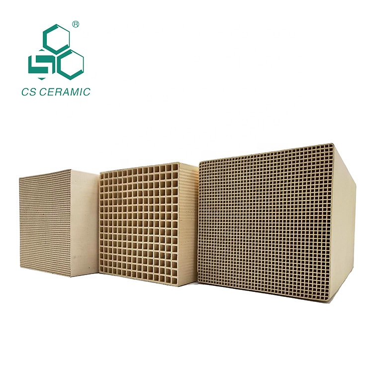 Thermal storage RTO/RCO Honeycomb <strong>Ceramic</strong> for heat recovery