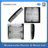 plasic new style fork comb,tool structure shampoo rake comb Professional injection molded plastic parts manufacturer