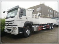 hot sale 2016 model howo 25t ton 6x4 cargo truck chassis with hook for sale