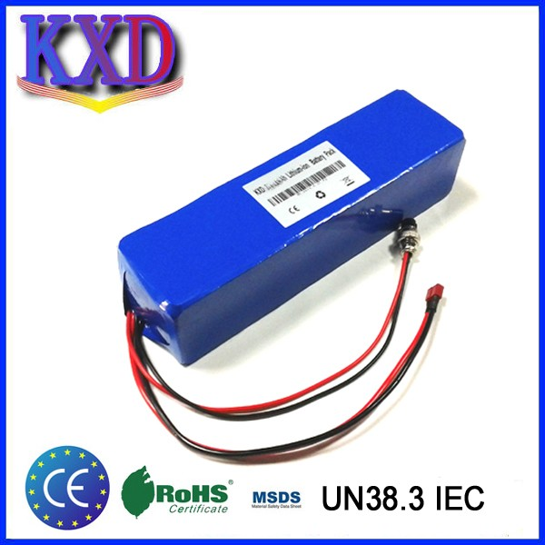KXD 18650R 6P10S 36v 12ah electric scooter battery
