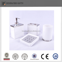 Hotsale ceramic bathroom accessories with suction cups