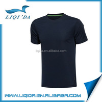 Promotional cheap bulk 100% cotton plain man custom black t shirts China