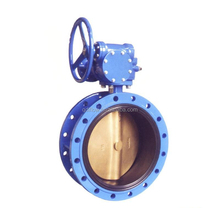 Class125 Ductile Iron AWWA 504 Butterfly Valve with Double Flange