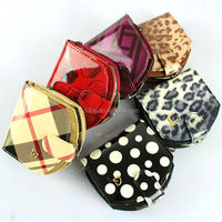 Eropean multifunction wallet bag for woman, leather coin purse for woman