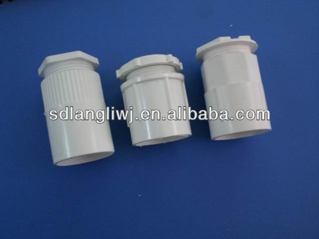 201 new type pvc pipe fittings with male bush