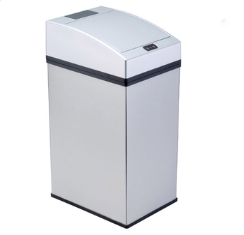 hygienic bathroom movement sensor trash bin