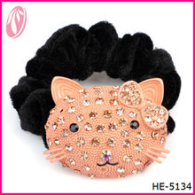 Lovely Hello kitty Hair Accessories with Diamond