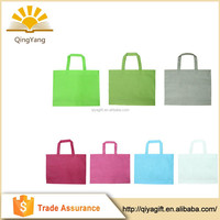 wholesale customized promotional decorative women bag bottom reusable folding shopping bag