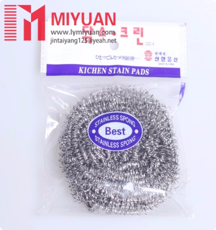 MIYUAN Eco- friendly Super cleaning product stainless steel scrubber