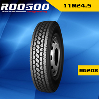 Roogoo tire 11r/24.5 truck tires 11 R 24.5 used tires