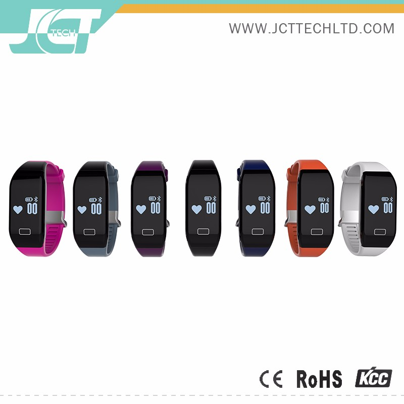 smart watch with heart rate monitor on the finger wristband with waterproof H3