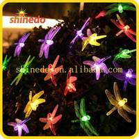 20 LED Dragonfly Solar led Lights for crafts