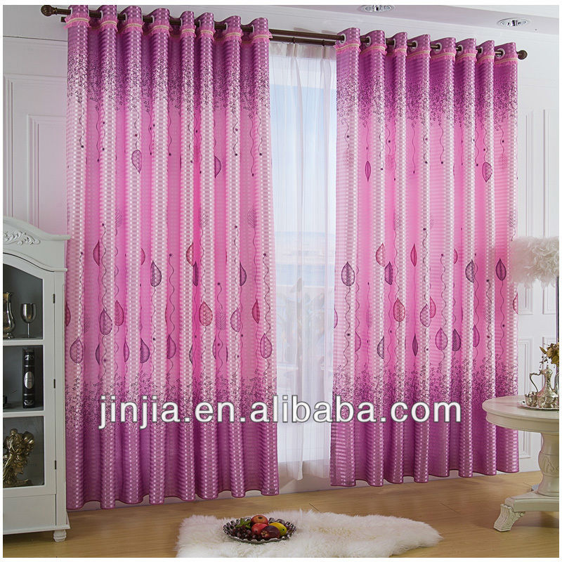MT 4550 Sheer curtain fabric stripe voile shower curtain silk organza curtain