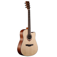 guitars made in indonesia solid spruce acoustic guitar