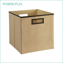 Decorative Storage Collapsible Fabric Storage Bin Box