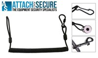 Coiled Kevlar Police Military Pistol Lanyard