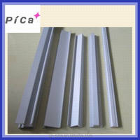 Aluminum extrusion profiles for photovoltaic solar frame panel