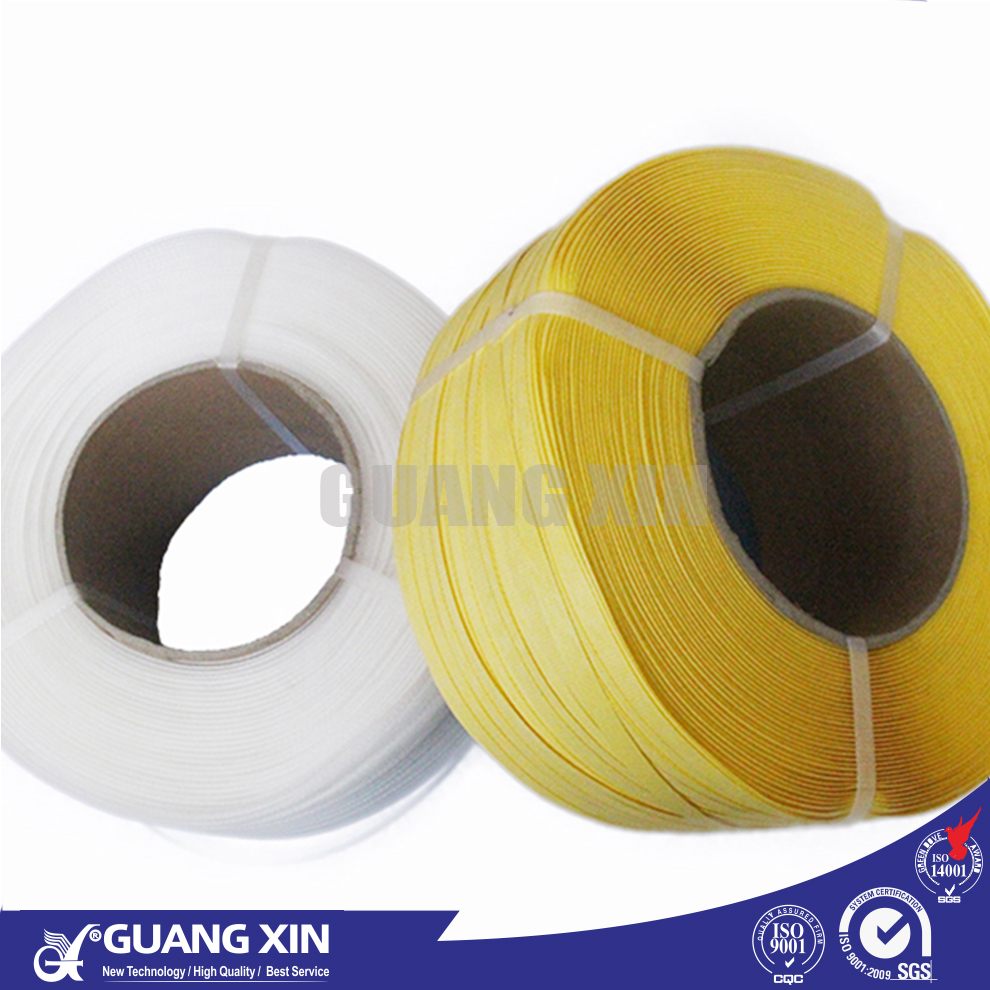 Best price PP PET colored clear hard plastic packing belt