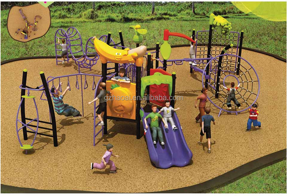A-01003 Kids paradise play structure
