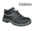safety steel toe and plate insert leather construction site work shoes for men