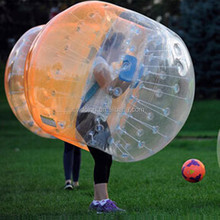Crazy outdoor bubble football, loopy ball, knocker bumper bubble ball D5103