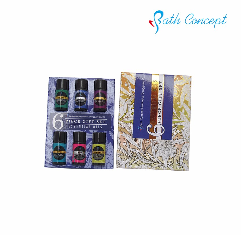 Natural 6pcs essential oils essential oil set