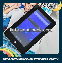 "2014 Hot cheap tablet pc 7"" Android 4.2.2 MTK8312 Dual Core 1.2GHz 2.0MP camera tablet phone"