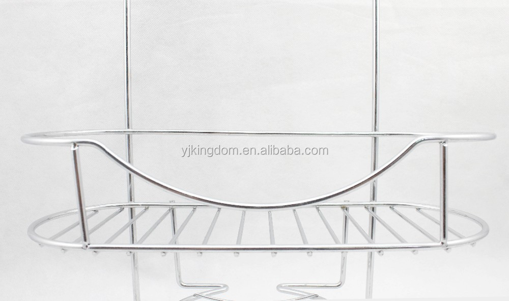 538-51 3-Tier Bathroom Hanging Rack with Chrome Plated