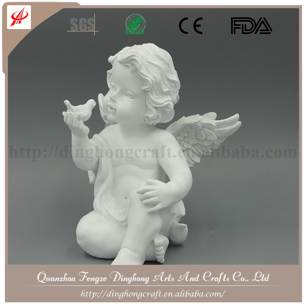 Resin Factory Decorative Manufacture Little Angel Ornament