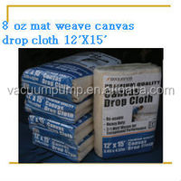 Mat Weave Canvas Cotton Dust Drop